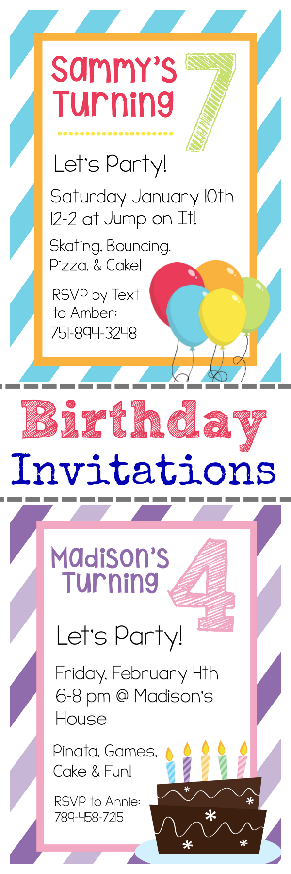 Free Printable Birthday Invitation Templates - Free Printable Boy Birthday Invitations