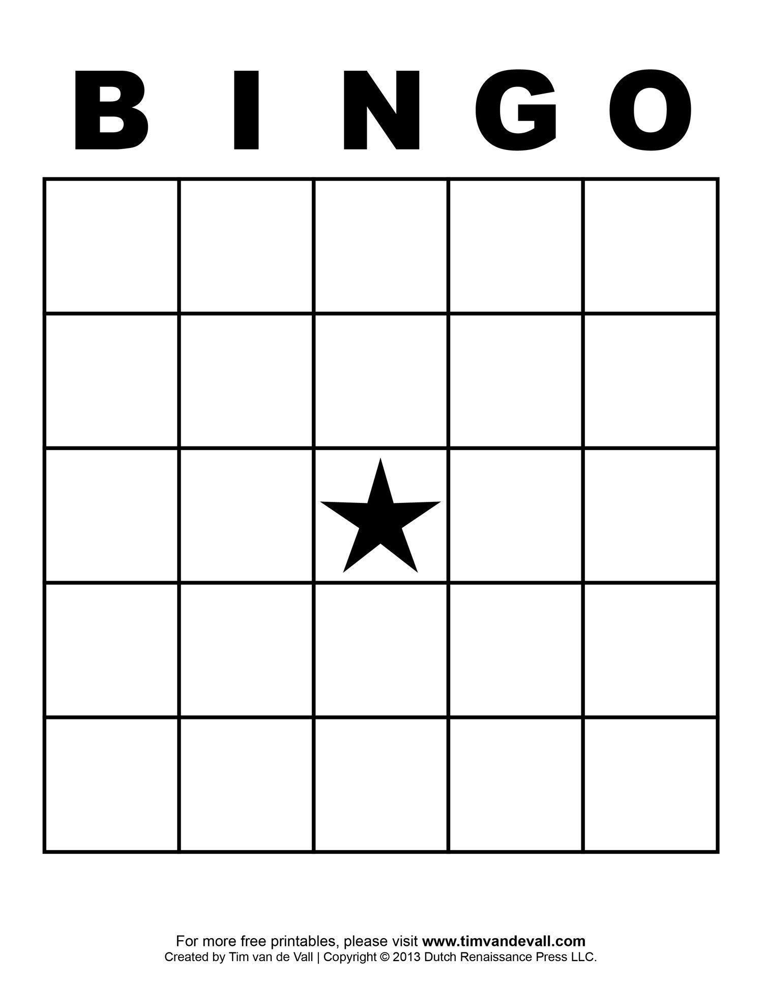 Free Printable Blank Bingo Cards Template 4 X 4 | Classroom | Sight - Free Printable Bingo Cards And Call Sheet