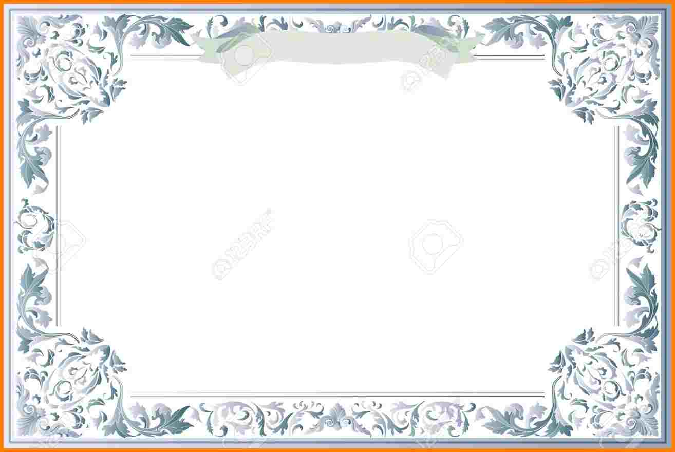 Free-Printable-Blank-Certificate-Templates-21802133-Blank - Free Printable Certificate Templates