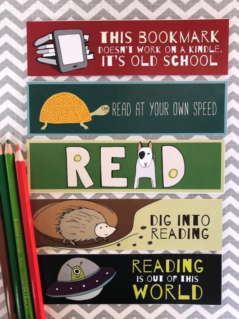 Free Printable Bookmarks For Kids - Weareteachers - Free Printable Bookmarks