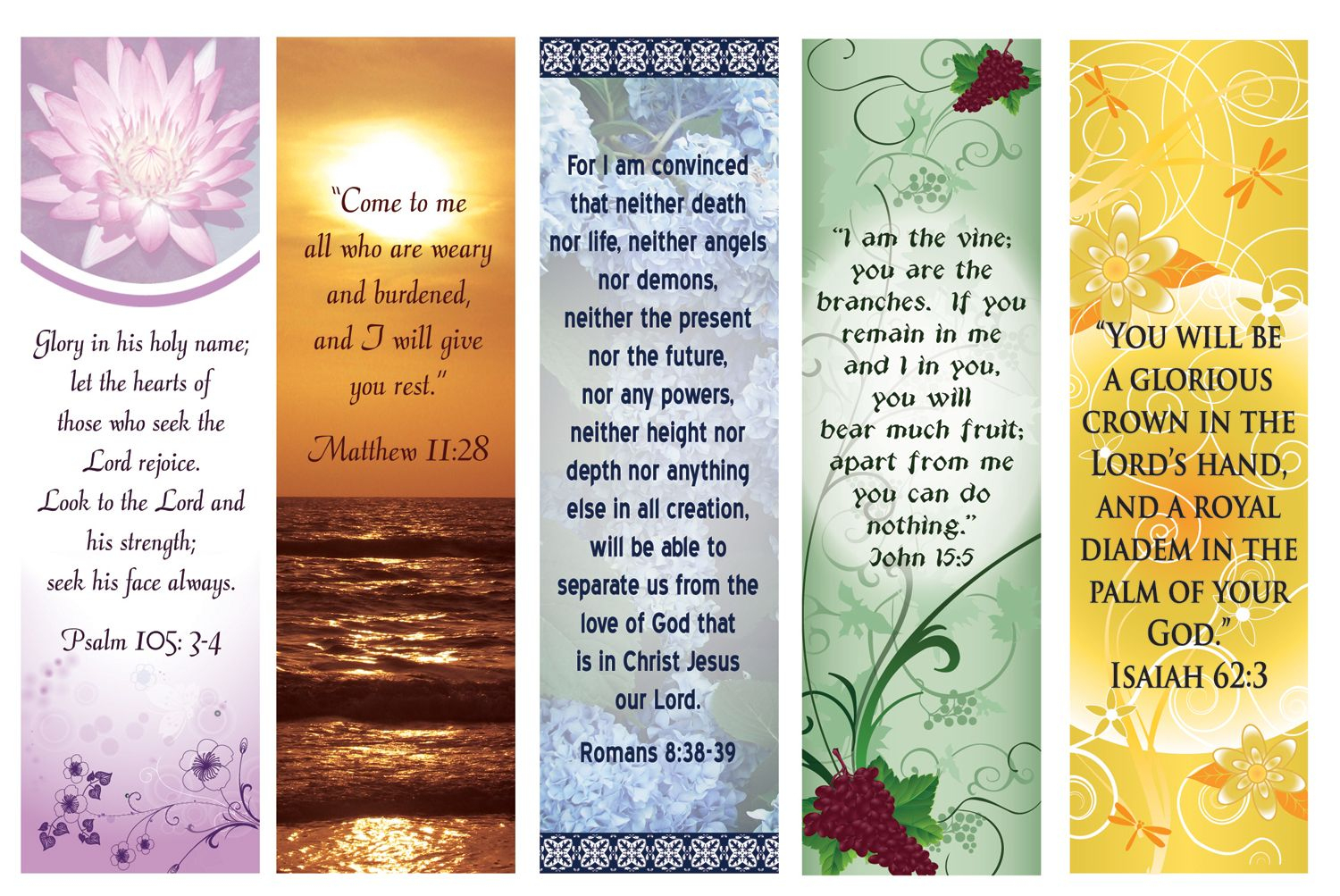 Free Printable Bookmarks With Bible Verses | Bookmarks | Pinterest - Free Printable Religious Easter Bookmarks