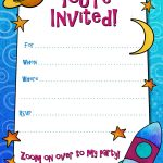Free Printable Boys Birthday Party Invitations | Birthday Party   Free Printable Birthday Invitation Cards Templates