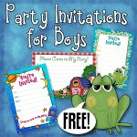 Free Printable Boys Birthday Party Invitations | Party Printables   Free Printable Toddler Birthday Invitations