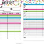 Free Printable Budget Planner | Bestprintable231118   Free Printable Budget Planner Uk
