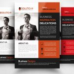 Free Printable Business Flyers Beautiful Red Brochure Template Free   Free Printable Business Flyers