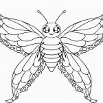 Free Printable Butterfly Coloring Pages For Kids For Butterfly   Free Printable Butterfly Coloring Pages