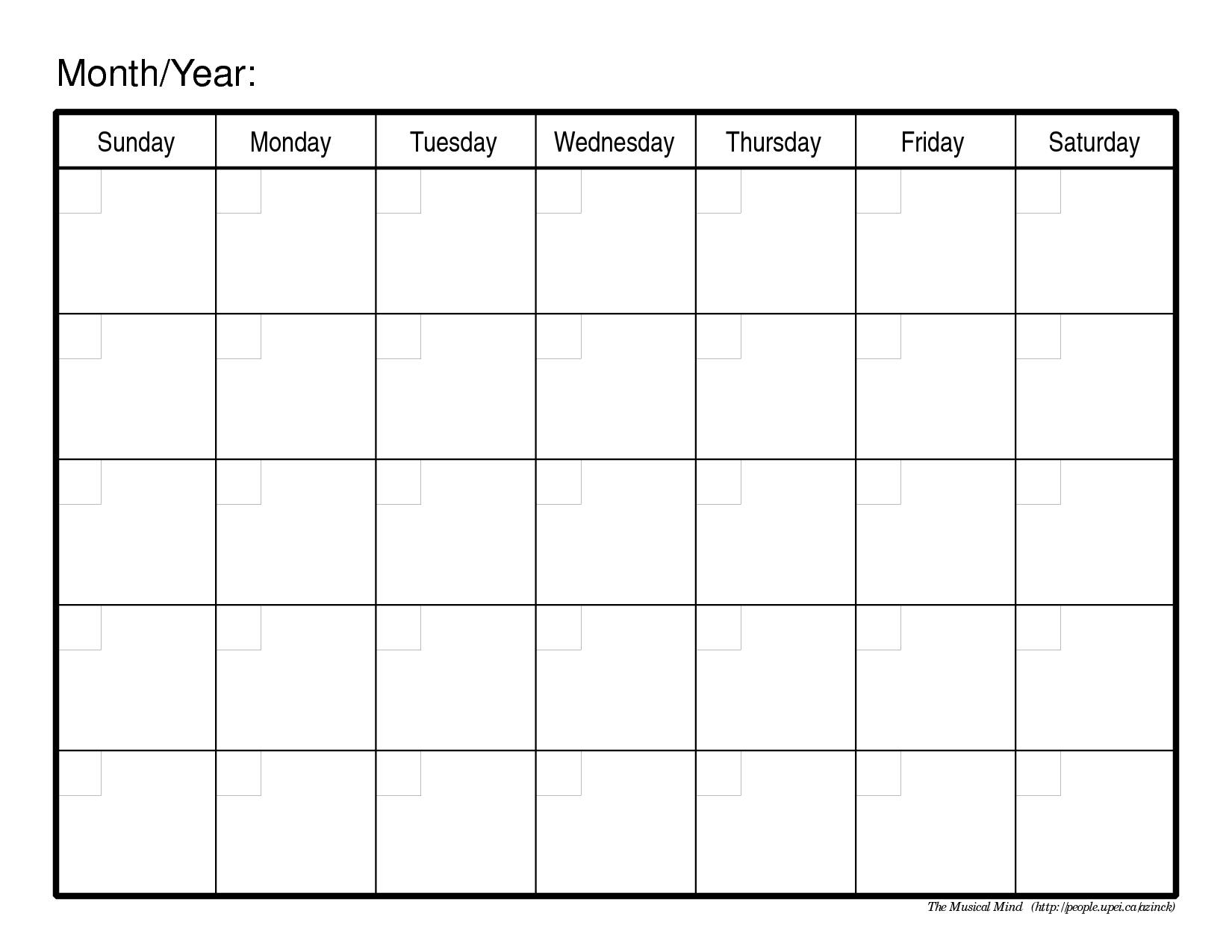 Free Printable Calendar For My Running Schedule September Monthly - Free Printable Monthly Planner