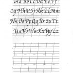 Free Printable Calligraphy Alphabet Practice Sheets | Scrapbooking   Free Printable Writing Sheets