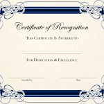 Free Printable Certificate Templates For Teachers | Besttemplate123   Free Printable Certificate Templates