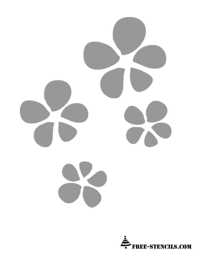 Free Printable Cherry Blossom Wall Stencils Wall Stencil Pattern - Free Printable Wall Stencils For Painting