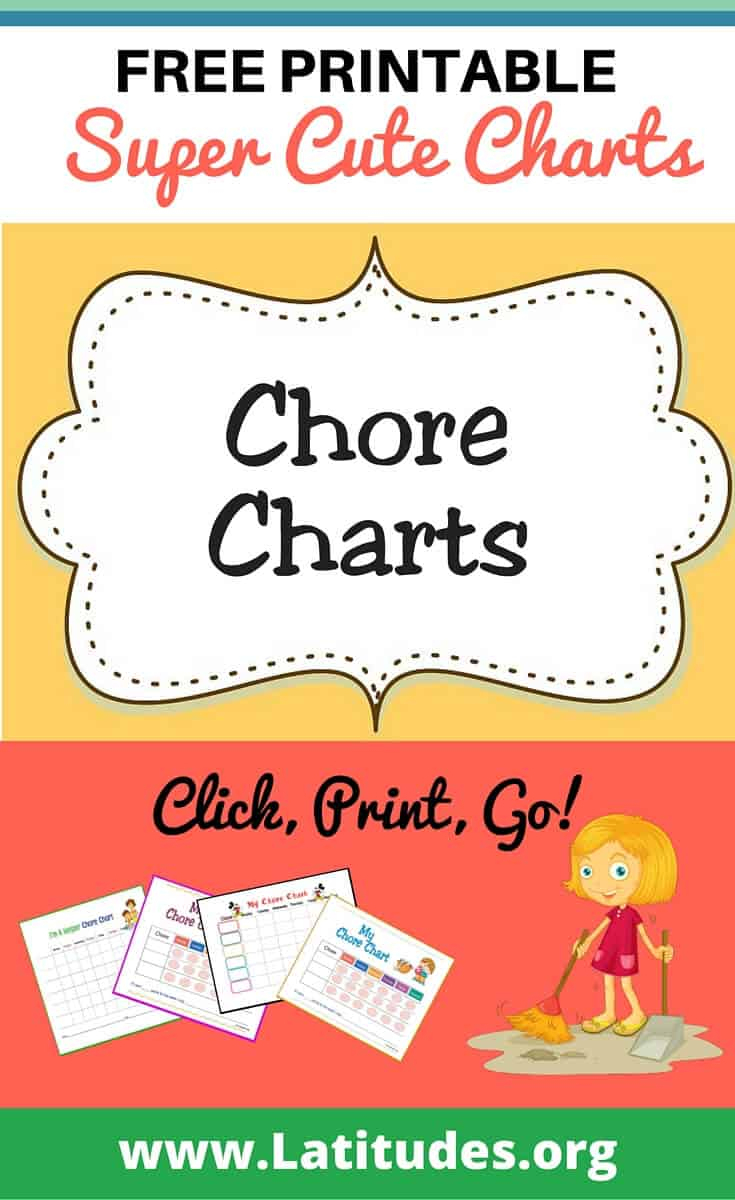 Free Printable Chore Charts For Kids   Acn Latitudes - Free Printable Chore Bucks