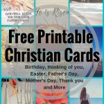 Free Printable Christian Cards For All Occasions   Free Printable Cards For All Occasions