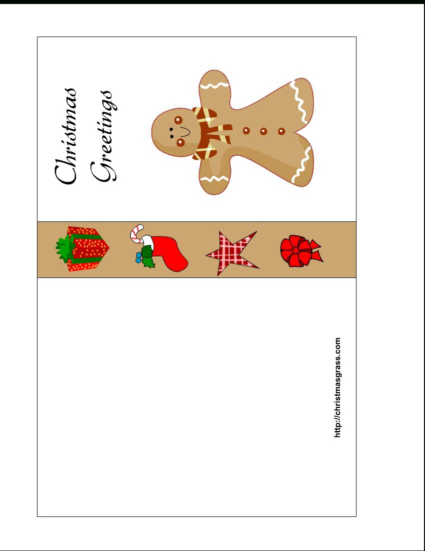 Free Printable Christmas Cards | Free Printable Christmas Card With - Free Printable Holiday Cards