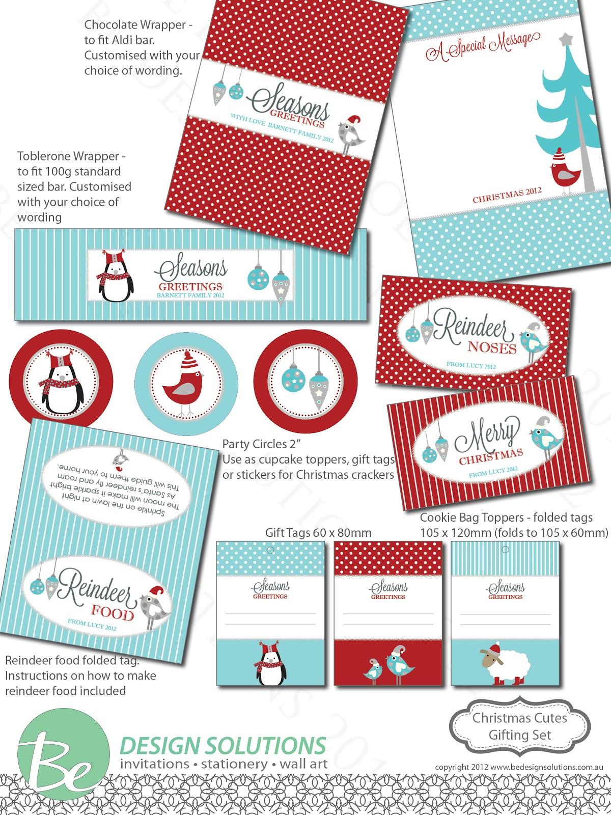 Free Printable Christmas Chocolate Bar Wrappers | Utterly Organised - Free Printable Christmas Candy Bar Wrappers