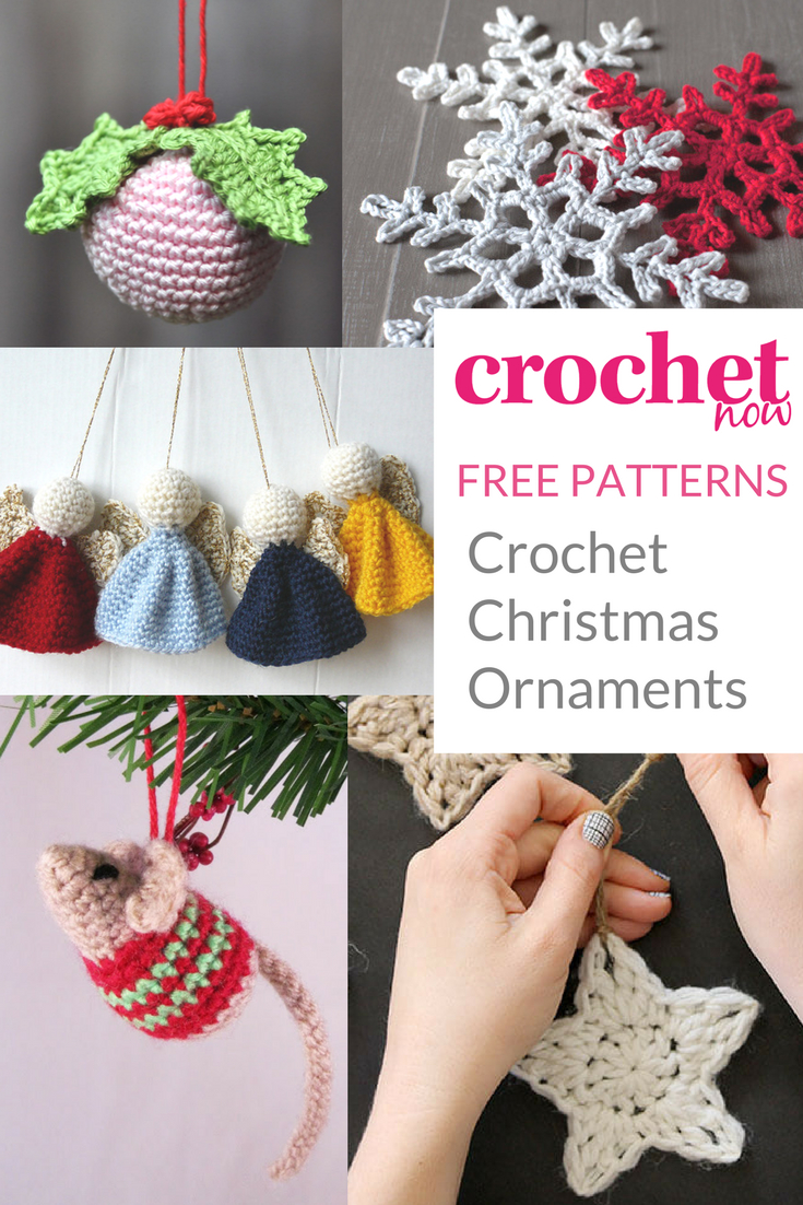 Free Printable Christmas Crochet Patterns – Festival Collections - Free Printable Christmas Crochet Patterns