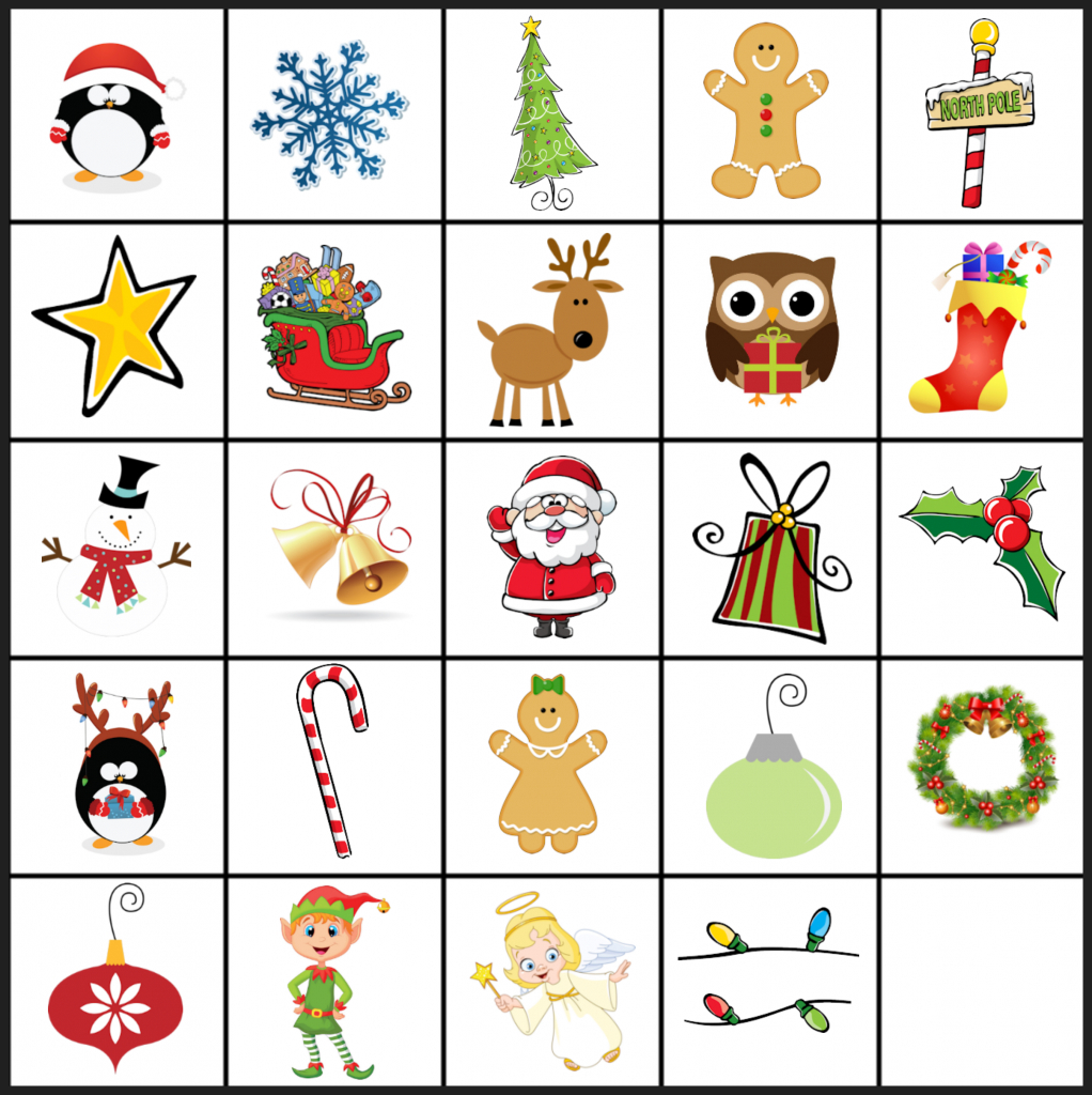 Free Printable Christmas Games: Christmas Matching Game Regarding - Free Printable Matching Cards