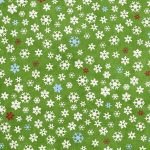 Free Printable Christmas Gift Wrapping Paper   Snowflakes On Green   Free Printable Christmas Paper