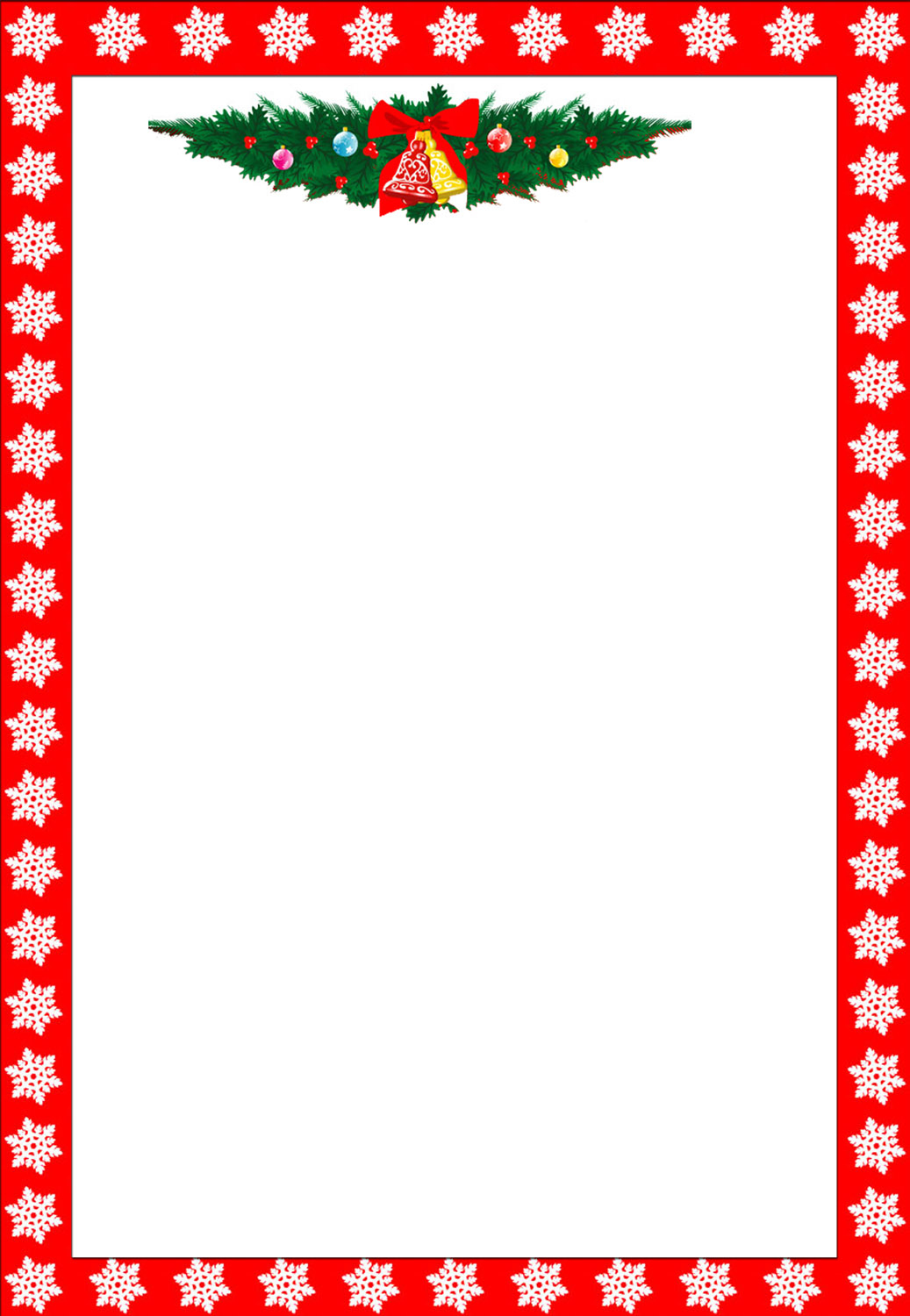 Free Printable Christmas Stationary Borders Trials Ireland - Free Printable Christmas Stationery Paper