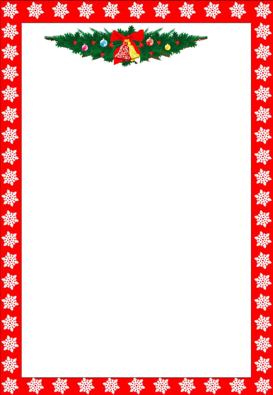 Free Printable Christmas Stationary Borders Trials Ireland - Free Printable Christmas Writing Paper With Lines