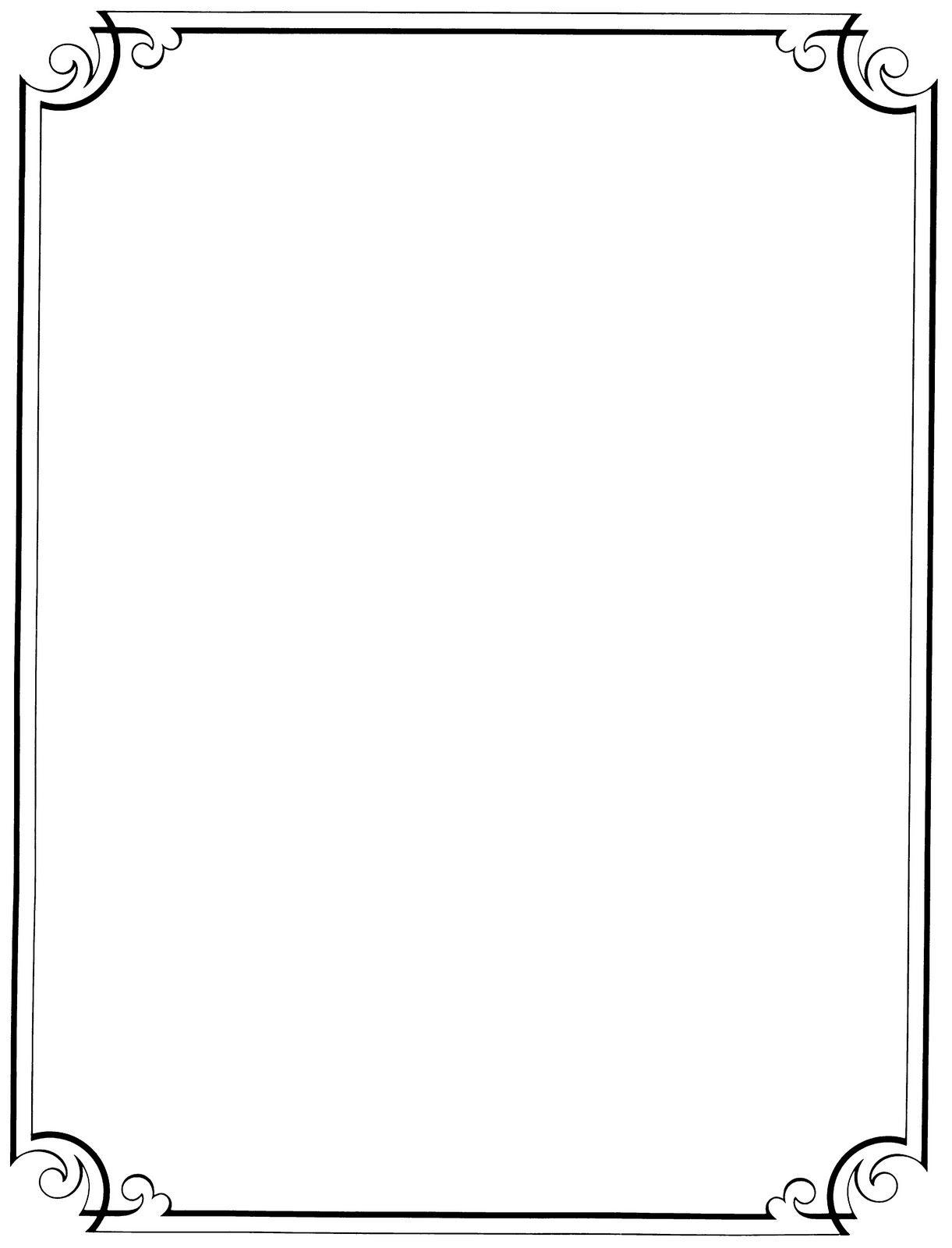Free Printable Clip Art Borders    : Free Vintage Clip Art - Free Printable Clip Art Borders