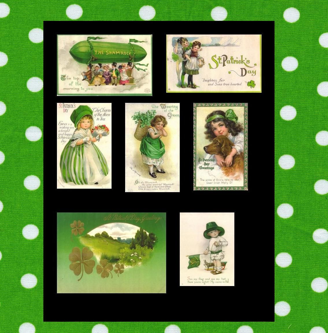 Free Printable Collage Sheets | Free Printable Spring Green Collage - Free Printable Picture Collage
