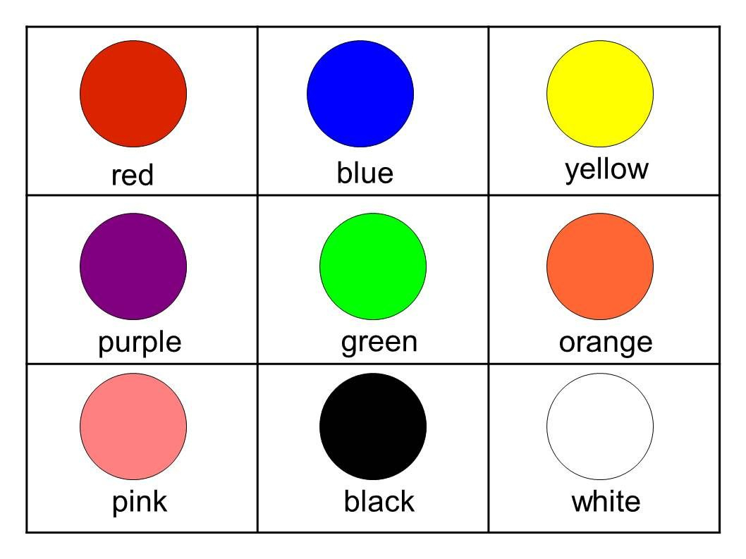 Free Printable Color Flash Cards For Toddlers   Enkkua   Color - Free Printable Colour Flashcards