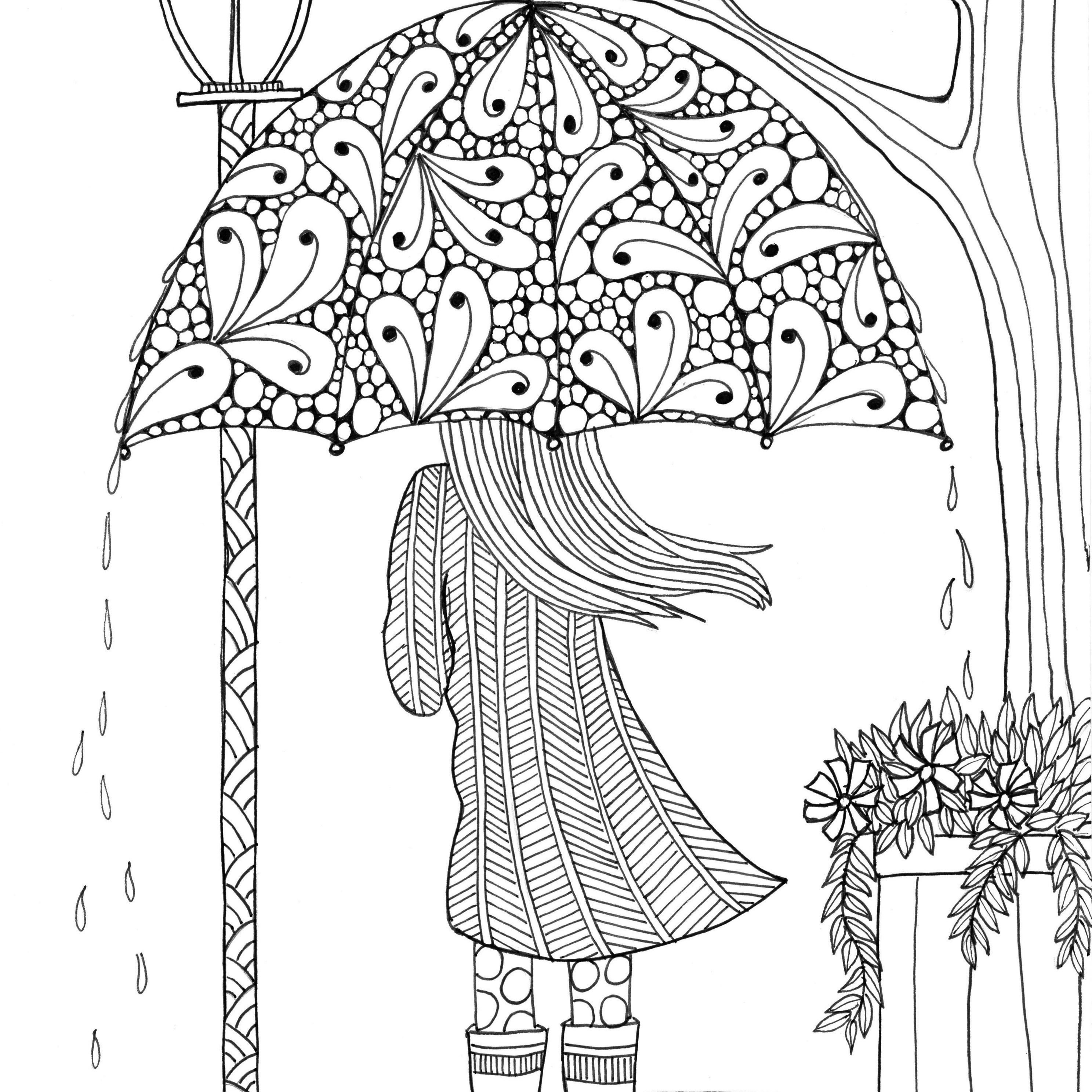 Free, Printable Coloring Pages For Adults - Free Printable Summer Coloring Pages For Adults