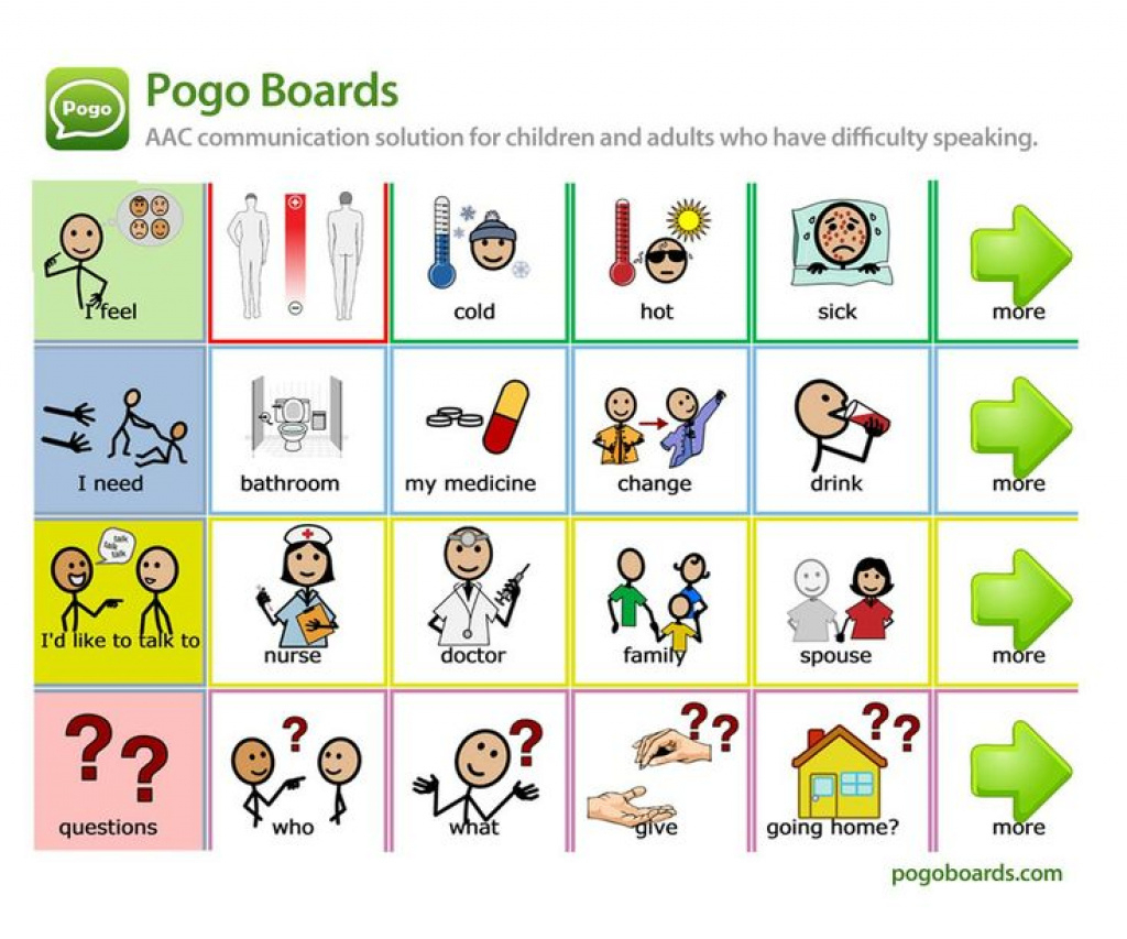 Free Printable Communication Boards For Adults Within Free Printable - Free Printable Communication Boards For Adults