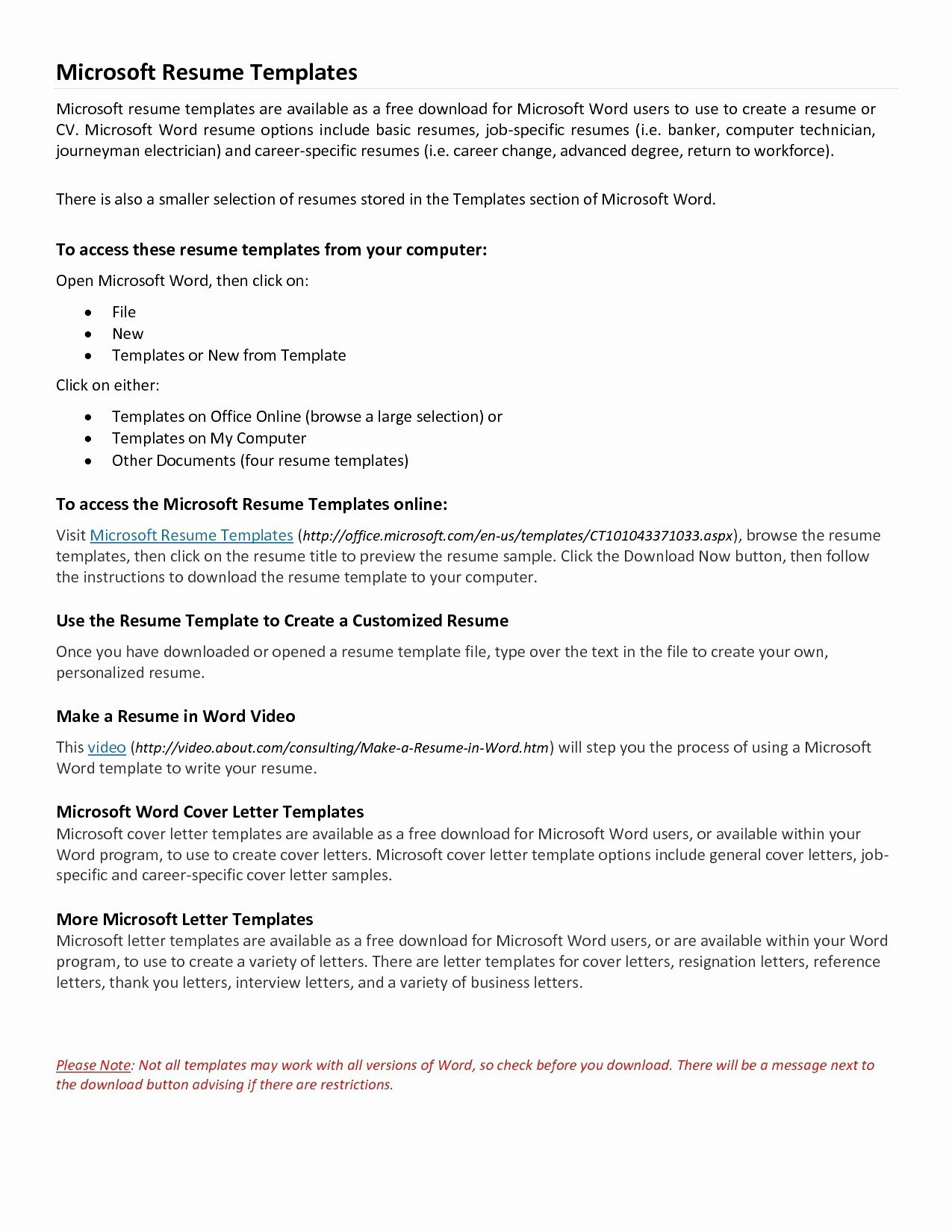 Free Printable Cover Letter Templates Beautiful Download Microsoft - Free Printable Cover Letter Templates