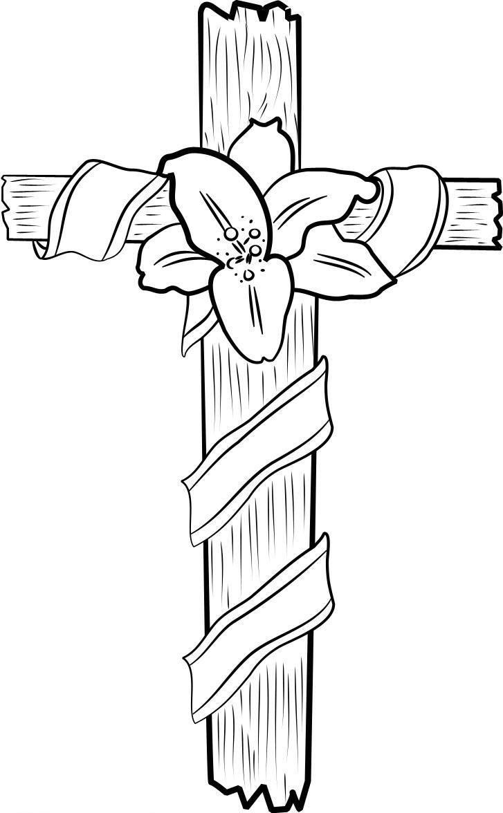 Free Printable Cross Coloring Pages For Kids | Coloriages Zen - Free Printable Cross