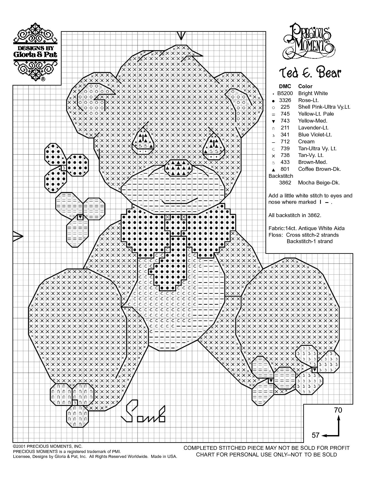 Free Printable Cross Stitch Patterns | Needlework Projects - Baby Cross Stitch Patterns Free Printable