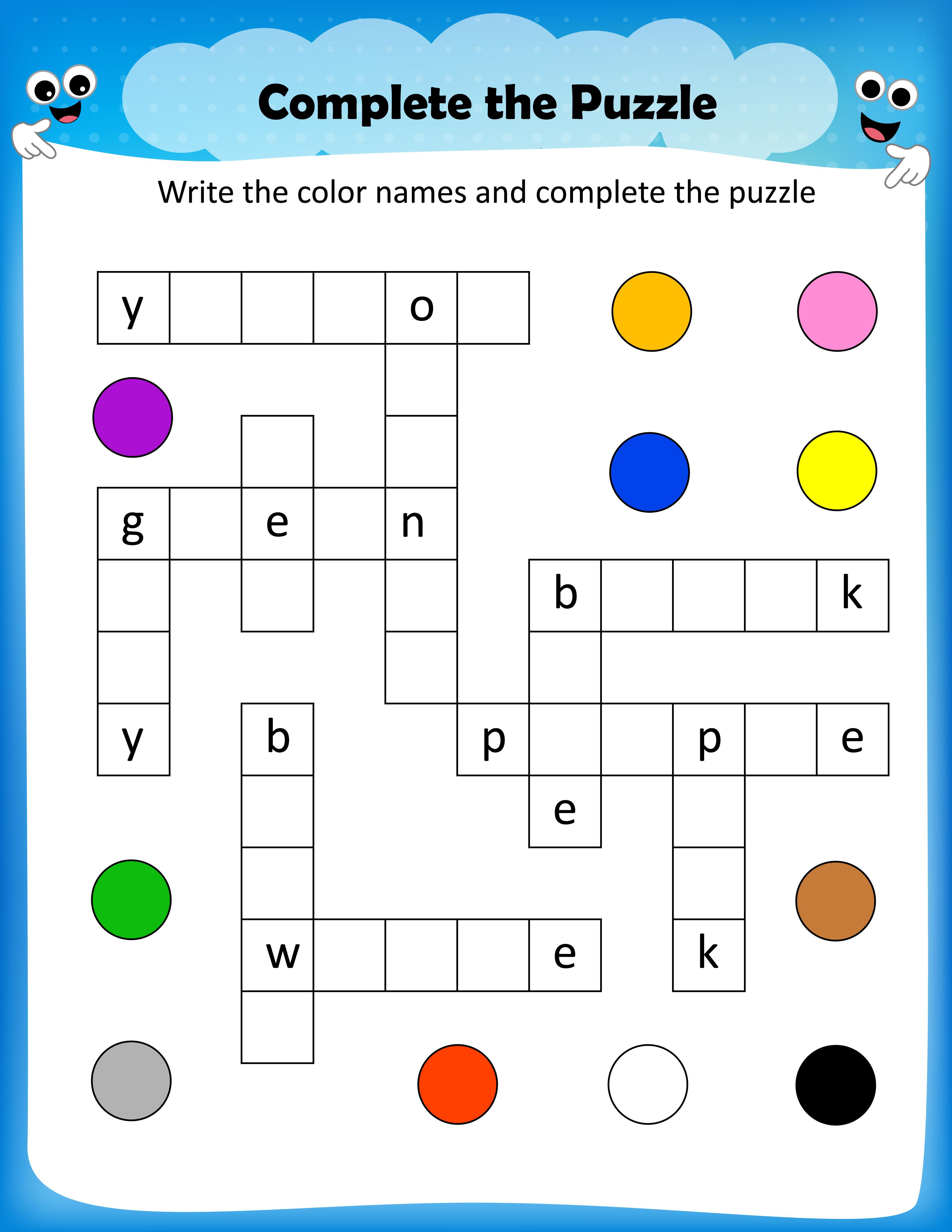 Free Printable Crosswords With Top 10 Benefits For Our Kids - Free Printable Puzzles For Kids