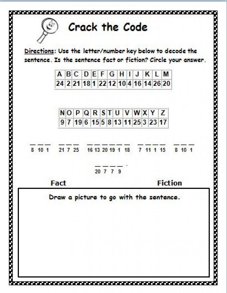 Free Printable Cryptograms   Free Printable - Free Printable Cryptograms