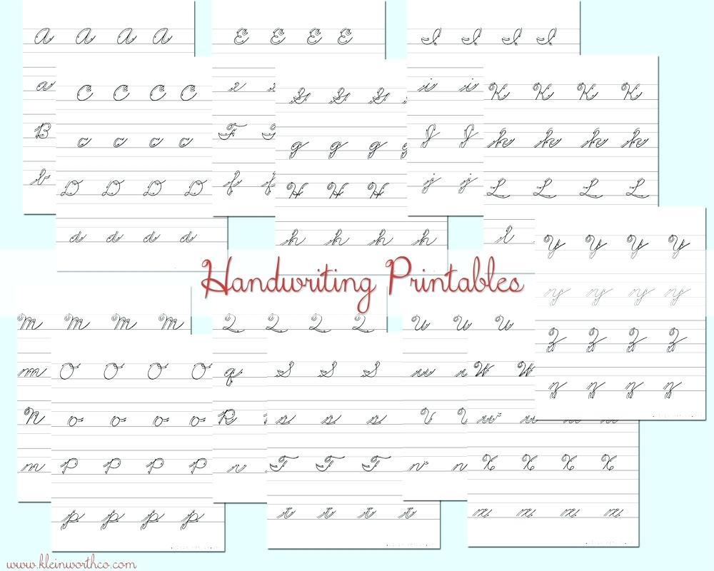 Free Printable Cursive Writing Practice Free Practice Cursive - Free Printable Cursive Practice