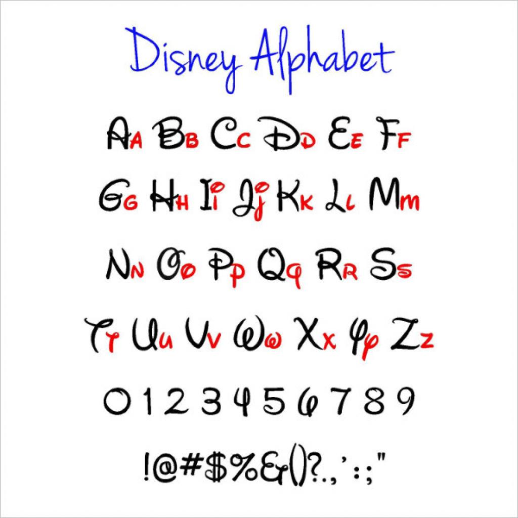 Free Printable Disney Alphabet Letters | Free Printable - Free Printable Disney Alphabet Letters