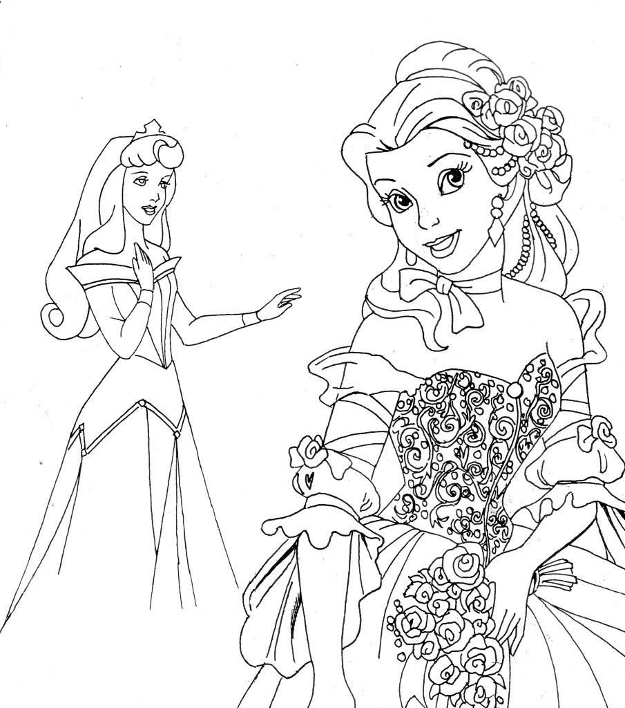 Free Printable Disney Princess Coloring Pages For Kids | Disney - Free Printable Coloring Pages Of Disney Characters