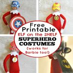 Free Printable Elf On The Shelf Superhero Costumes   Simple Made Pretty   Elf On The Shelf Free Printable Ideas
