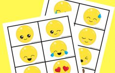 Free Printable Emoji Memory Game For Kids | After School Activities – Free Printable Matching Cards