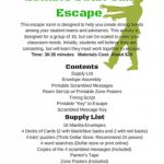 Free Printable Escape Room Clues | Download Them Or Print Inside   Printable Escape Room Free