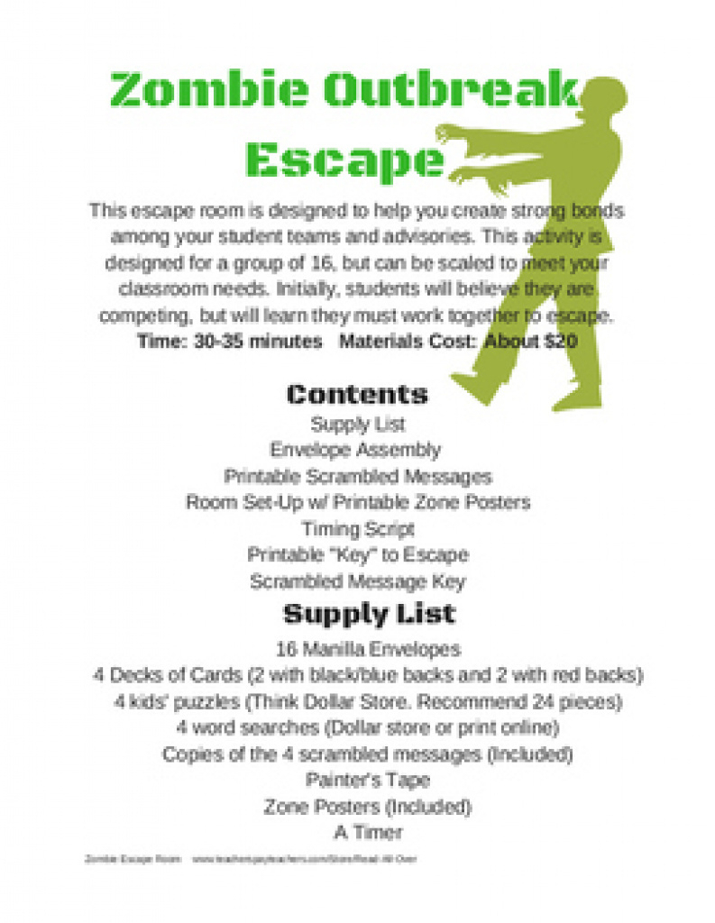 Free Printable Escape Room Clues   Download Them Or Print Inside - Printable Escape Room Free