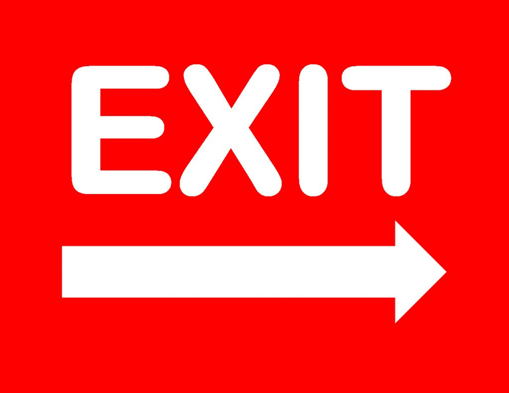 Free Printable Exit Signs | Free Printable - Free Printable Not An Exit Sign