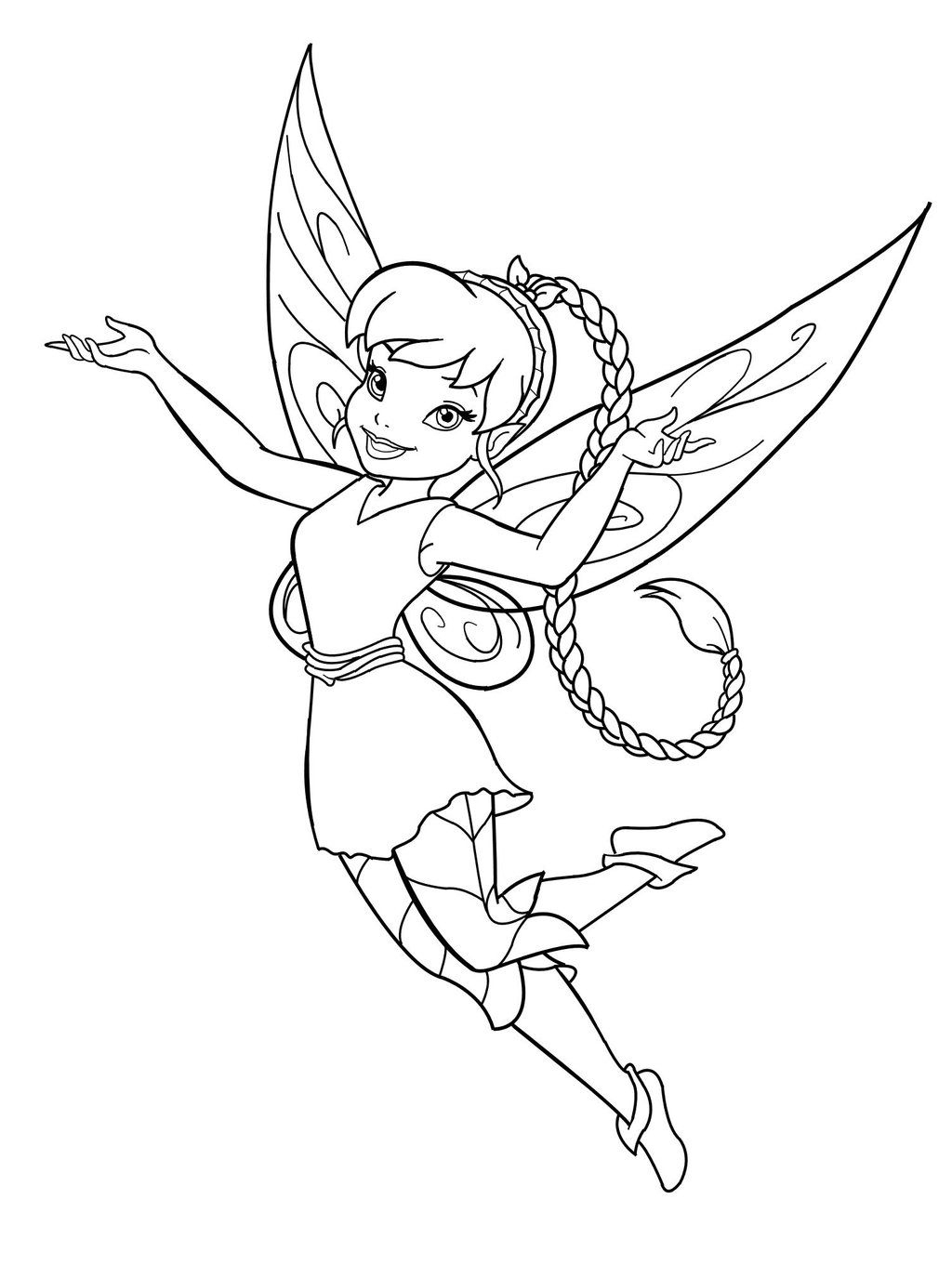 Free Printable Fairy Coloring Pages For Kids | Coloring Therapy - Free Printable Fairy Coloring Pictures