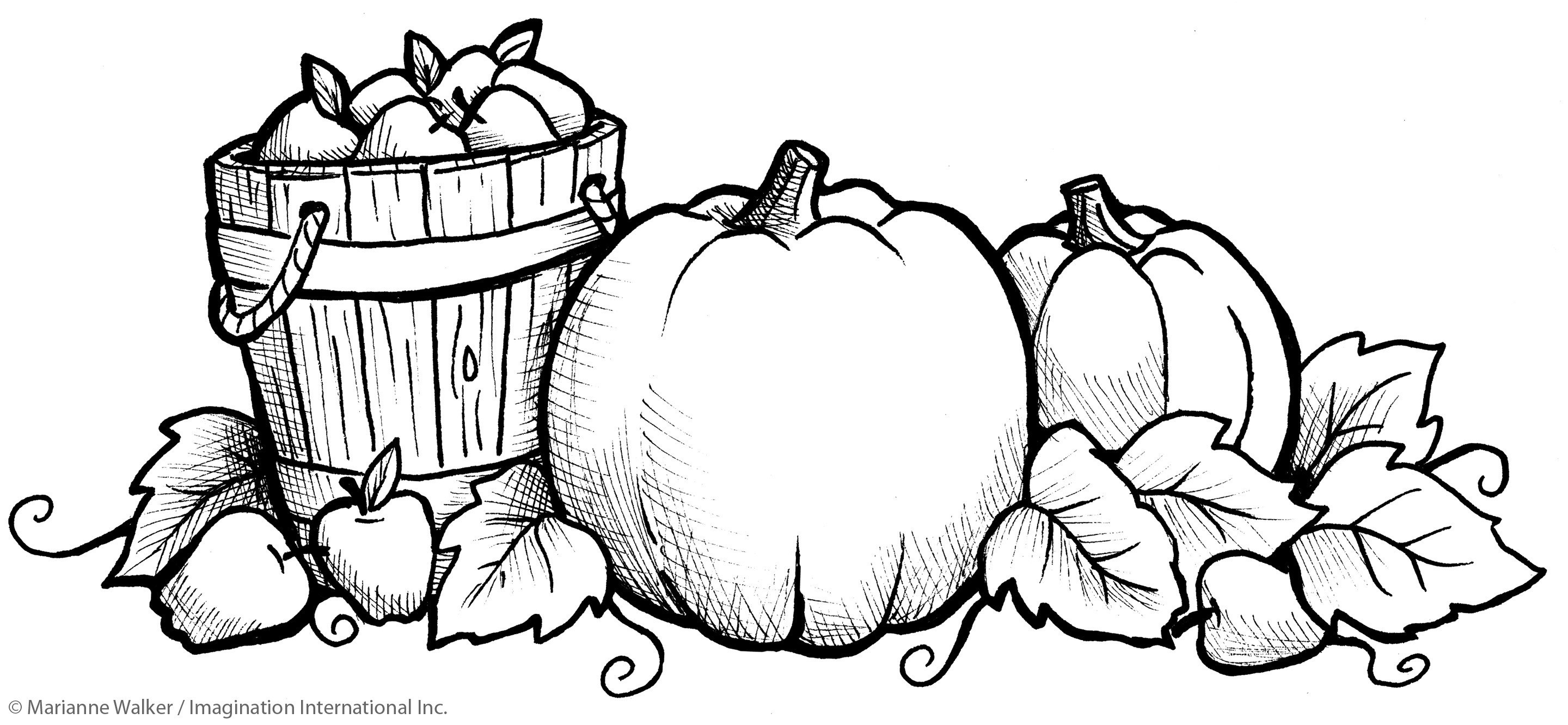 Free Printable Fall Harvest Coloring Pages - Free Printable Fall Harvest Coloring Pages