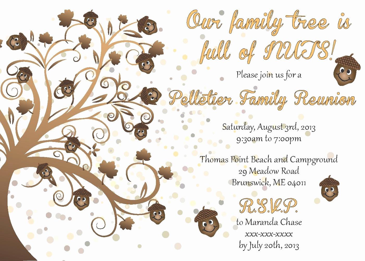Free Printable Family Reunion Flyer Templates Elegant Reunion - Free Printable Family Reunion Invitations