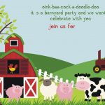 Free Printable Farm Animals Birthday Invitation | Free Printable   Free Printable Farm Animals
