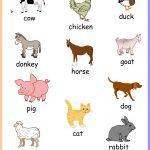 Free Printable Farm Animals Chart Keywords:toddler,preschool,kids   Free Printable Farm Animal Pictures