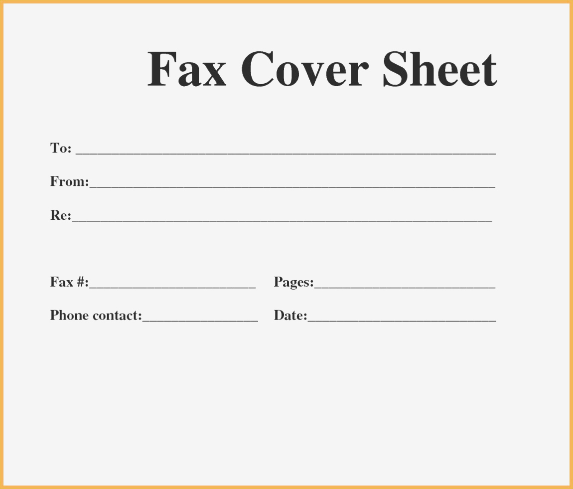 Free Printable Fax Cover Sheet Pdf Faxing Cover Letter : Resume - Free Printable Cover Letter For Fax