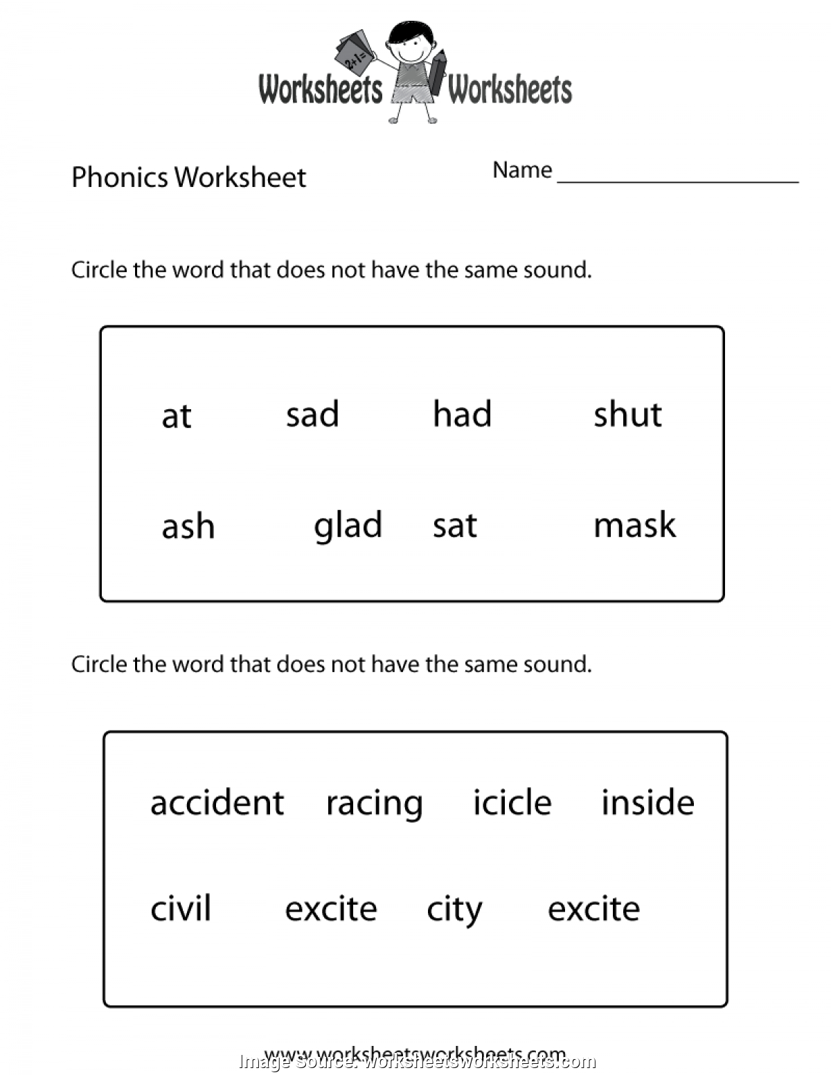 Free Printable First Grade Worksheets To Printable - Math Worksheet - Free Printable First Grade Worksheets