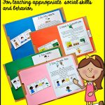 "Free, Printable ""folder Stories."" Simple One Page Social Stories   Free Printable Social Stories"