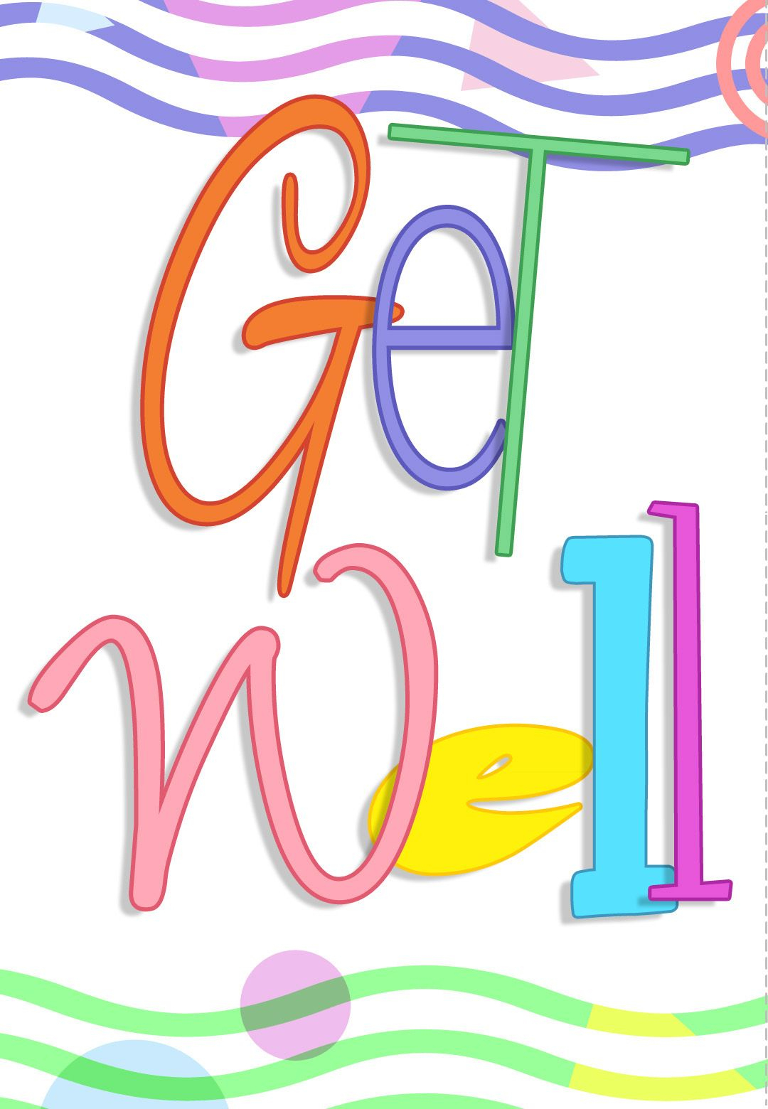 Free Printable Get Well Greeting Card | Card Making | Get Well - Free Printable Get Well Cards